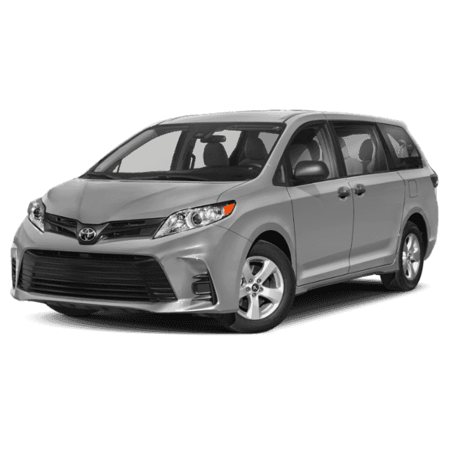 Toyota Sienna Rental: Book A Rental Car With V.I.B. Motors Now